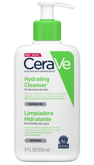 create hydrating cleanser