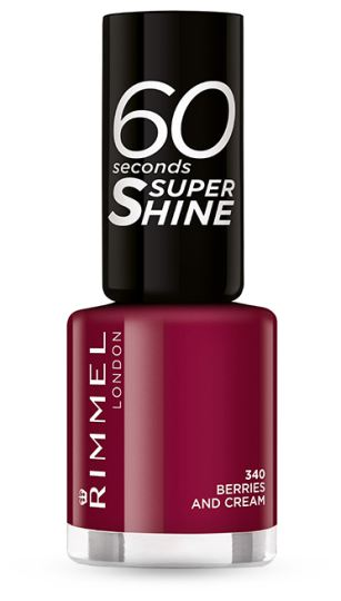 Rimmel 60 Seconds Super Shine –  Nail Polish