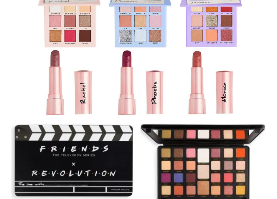 Check out this Friends X Revolution Beauty makeup line!