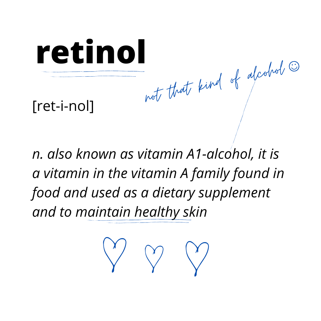 Beauty Buddy Ingredient Dictionary - Retinol