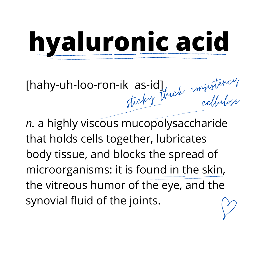 Dictionary - Hyaluronic Acid by Beauty Buddy