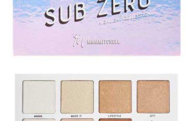 BPerfect MMMMitchell Sub Zero Highlighter Palette