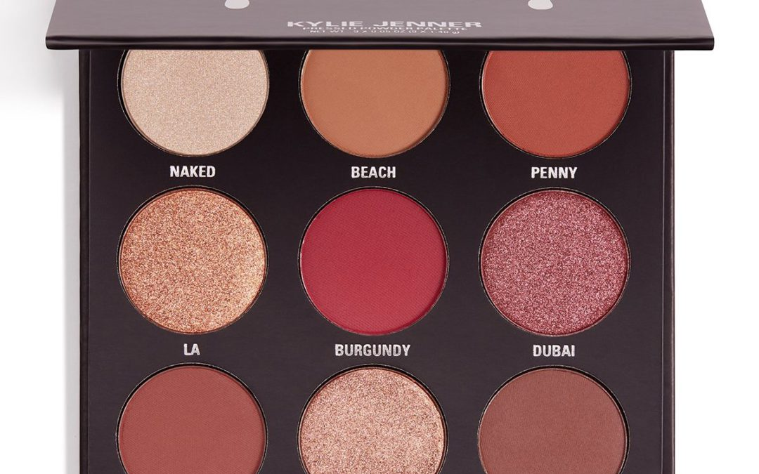 Kylie Cosmetics The Burgandy Palette