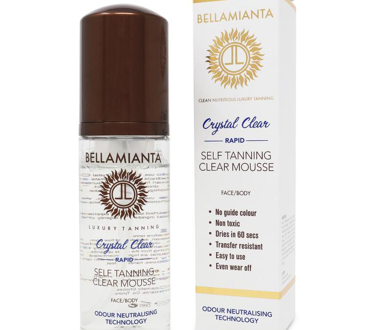 Bellamianta Crystal Clear Rapid Tanning Mousse